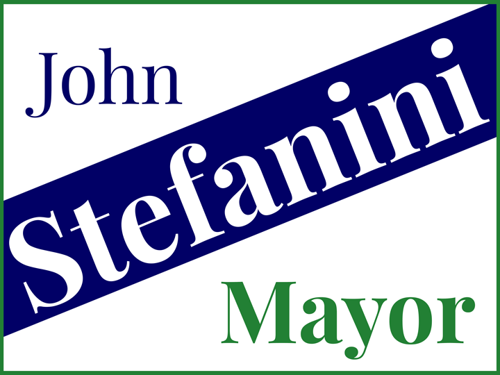Official site of Stefanini for Mayor of Framingham